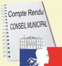CR Conseil Municipal